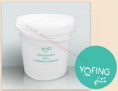 YOFI Dead Sea Salt ar klinģerītēm 1200 gr.