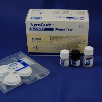 NycoCard D-Dimer 6 testi