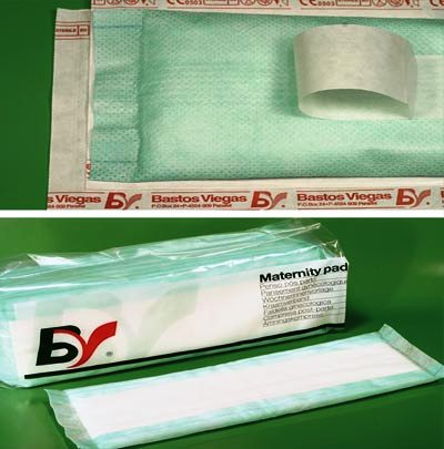 Pēcdzemdību paketes,30x10cm,10 gab.