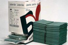 Pārklājs 45×75 cm, sterils.