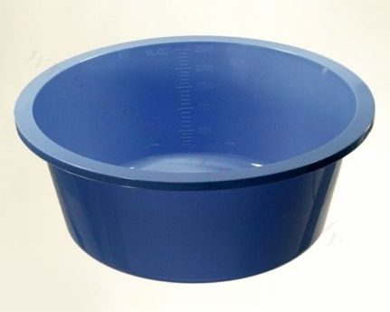 Plastmasas bļodiņa (zila) 1000 ml, nesterila.