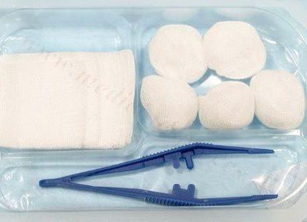 Pārsiešanas komplekts (sterils).