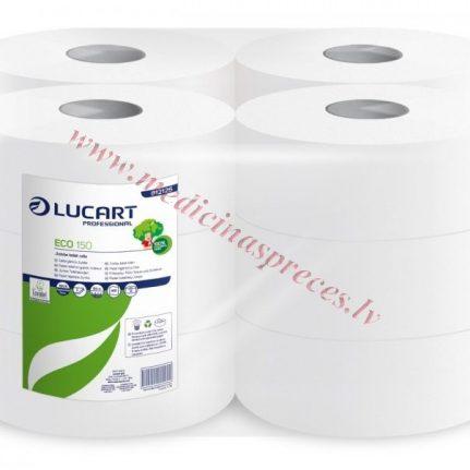 Tualetes papīrs ECO Lucart 150  rullis turētājam/1 {12}