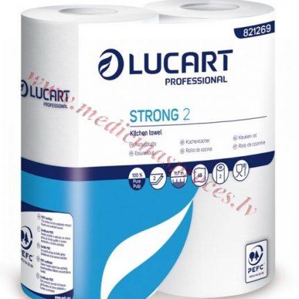 Virtuves dvielis rullī Strong Lucart 2.