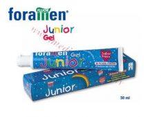 Foramen Junior zobu pasta – gels, 50 ml.