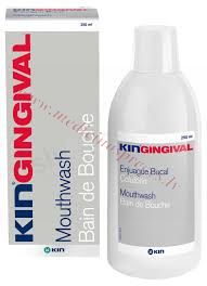 KIN Gingival mutes skalojamais 250 ml.