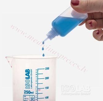 Pudele izpilināma 20 ml, PP. Iepakojumā 10 gab.