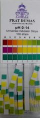 pH noteikšanas teststrēmeles,100 gab.