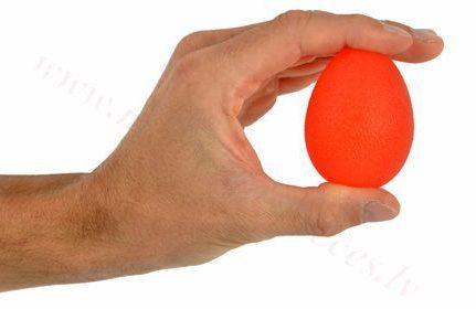 Masāžas gēla ola, sarkana-vieglas pretestības.