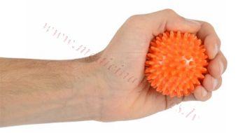 Bumbiņa masāžas 6 cm, oranža, MSD.