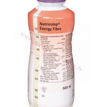 NUTRICOMP Energy Fibre, PE pudele 500 ml.