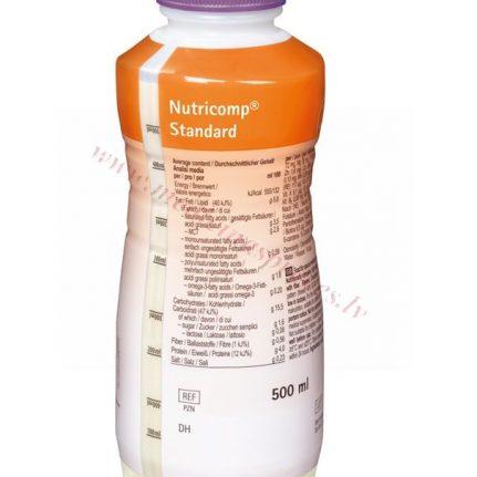 NUTRICOMP Standard Fibre, 500 ml PE pudele.