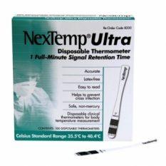 NexTemp Ultra vienreizējās lietošanas termometrs, 1 gab.