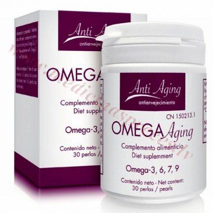 OMEGA AGING ar omega 3,6,7,9 taukskābēm, 30 kapsulas.