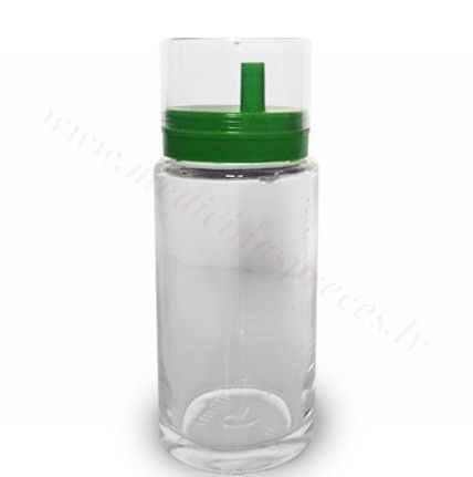 Dozēšanas trauks masāžas eļļai, 200 ml.