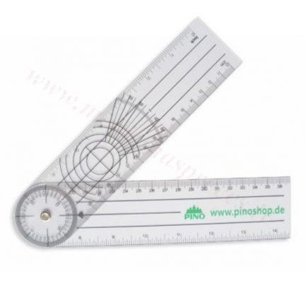 Goniometrs (plastmasas) 21.5 cm.