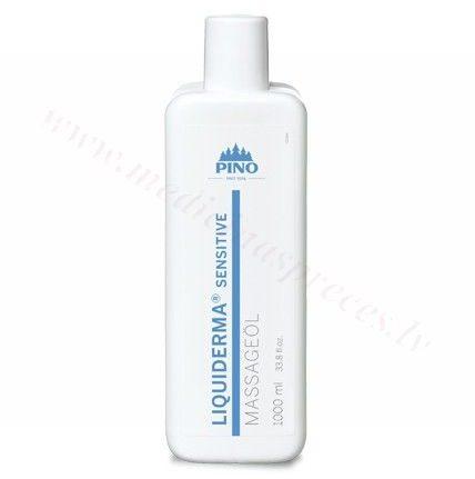 LIQUIDERMA Sensitive masāžas eļļa, 1000 ml.