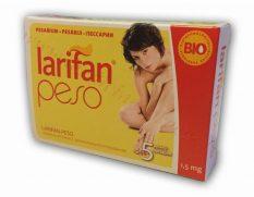 LARIFAN PESO pesāriji 1,0 mg. Iepakojumā 5 gab.