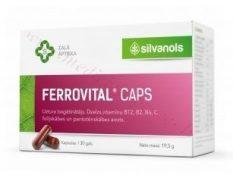 Ferrovital, 30 kapsulas.