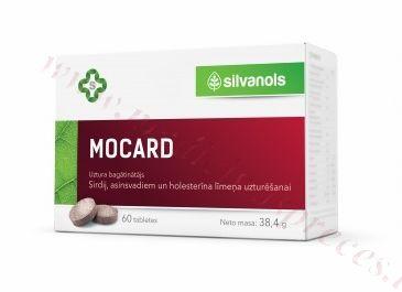 Mocard, 60 tabletes.
