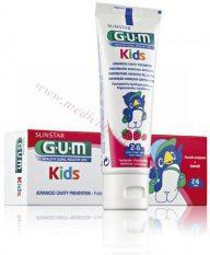 GUM Kids zobu pasta bērniem no 2 līdz 6 gadiem, 50 ml.