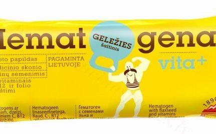 Hematogens ar linsēklām un vitamīniem, 50 g.