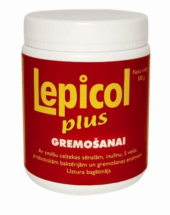 Lepicol plus gremošanai, 180 gr.