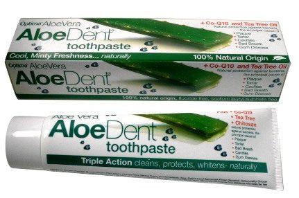 AloeDent Triple Action zobu pasta, 100 ml.