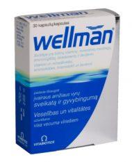 Wellman, 30 tabletes.