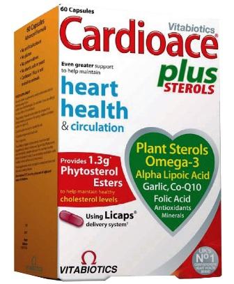 Cardioace plus kapsulas, N60.