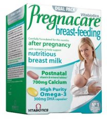 Pregnacare breast – feeding, 56 tabletes un 28 kapsulas.