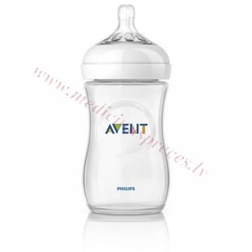 Barošanas pudelīte AVENT NATURAL 260ml.