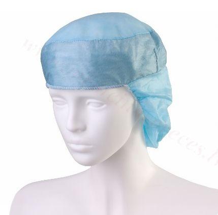 Cepure ar sviedru uzsūcošu joslu DORA, pagarināta (zila), nesterila.