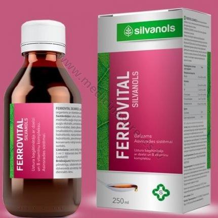 ferrovital-balzams-produkti-veselibas-stiprinasanai-gremosanas-sistemai-silvanols-medicinaspreces.lv