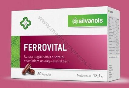 ferrovital kapsulas