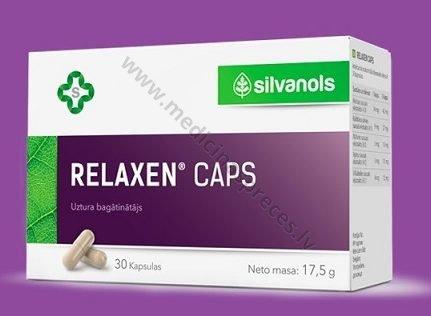 relaxen-kapsulas-produkti-veselibas-stiprinasanai-nervu-sistemai-silvanols-medicinaspreces.lv