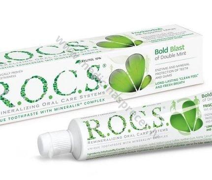 rocs-zobu-pasta-bold-blast-double-mint-zobarstniecibai-zobu-pastas-un-mutes-skalojmie-rocs-medicinaspreces.lv