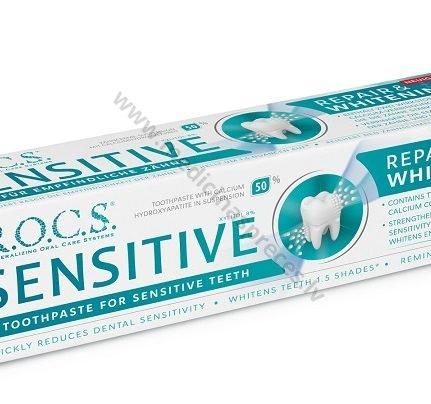 rocs-zobu-pasta-sensitive-repair-whitening-zobarstniecibai-zobu-pastas-un-mutes-skalojmie-rocs-medicinaspreces.lv