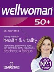 wellwoman-50-vitamini-un-mineralvielas-vitabiotics-medicinaspreces.lv
