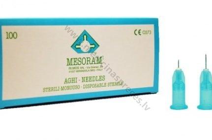 mesoram-mezoterapijas-adatas- 27G-slirces-adatas-sistemas-iv-katetri-adatas-mesoram-medicinaspreces.lv