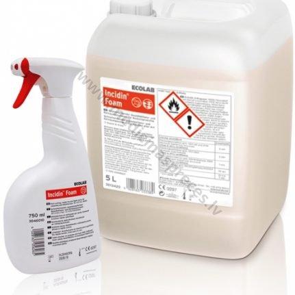 incidin-foam-dezinfekcijas-lidzeklis-virsmam-ecolab-medicinaspreces.lv