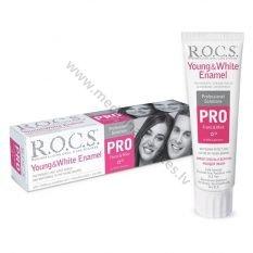 rocs-pro-young-white-enamel-zobu-pasta--zobarstniecibai-zobu-pastas-un-mutes-skalojamie-rocs-medicinaspreces.lv