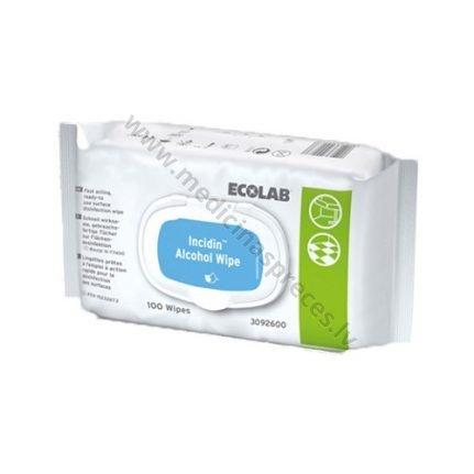 incidin-alcohol-wipes-100-dezinfekcijai-un-sterilizacijai-dezinfekcijas-lidzekli-virsmam-ecolab-medicinaspreces.lv